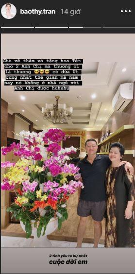 Ngày giáp Tết của những mỹ nhân Việt năm đầu làm dâu: Đàm Thu Trang khoe trang hoàng nhà cửa lộng lẫy, Bảo Thy lại rưng rưng khi về thăm bố mẹ đẻ 2