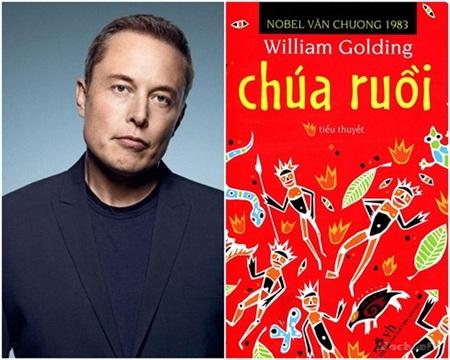 Tỷ phú công nghệ Elon Musk cực kỳ hâm mộ cuốn Lord of the Flies (Chúa ruồi) của nhà văn từng đoạt giải Nobel William Golding.