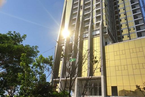 Phản quang tại toà nhà P.A Tower.