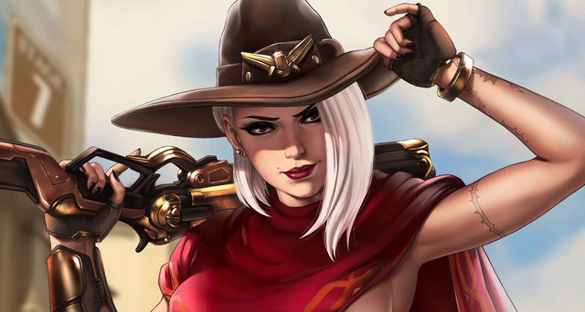 Ashe của Overwatch