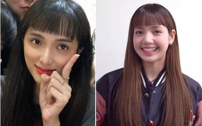 Giải thích cho màn thay đổi hình tượng bất ngờ này, Hương Giang cho biết vì tình yêu với Lisa cùng BLACKPINK nên đã trót 'lỡ tay' cắt phăng phần tóc mái