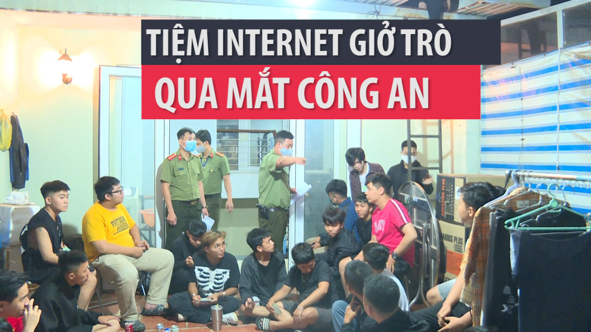Phát hiện tiệm Internet giở trò khi bị kiểm tra mùa dịch
