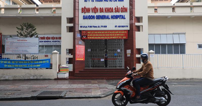 Liên quan 5 ca F0, BV Đa khoa Sài Gòn ngừng nhận bệnh nhân khám, chữa bệnh
