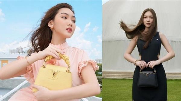 Xem show Louis Vuitton kiểu Chloe Nguyễn: Diện nguyên set LV, bao trọn Dome 360 Theater lớn nhất Việt Nam