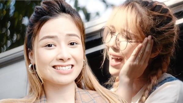 Hậu trường MV 'Xe anh đến đâu em theo đến đó': Hậu Hoàng công khai 'giành' hit, Dương Hoàng Yến hãy coi chừng!