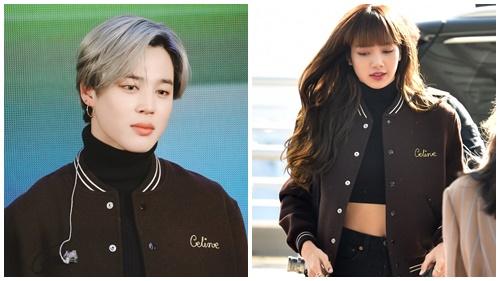 Jimin (BTS) 'làm loạn' mạng xã hội khi diện mẫu áo khoác đơn giản, vô tình đụng hàng 'nàng thơ Celine' Lisa