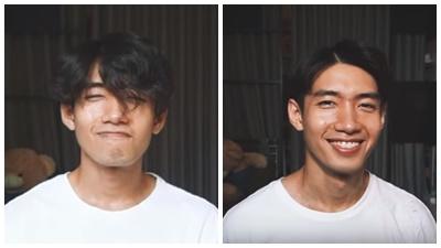 Mặc lùm xùm 'người cũ người mới, Quang Đăng tung clip tự cắt tóc ở nhà