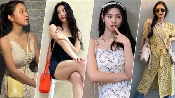 Sao Hàn mặc đẹp tuần qua: Na Eun 'chơi trội' khi diện đầm giống Sooyoung, hội em út Red Velvet cùng khoe body 'mlem'