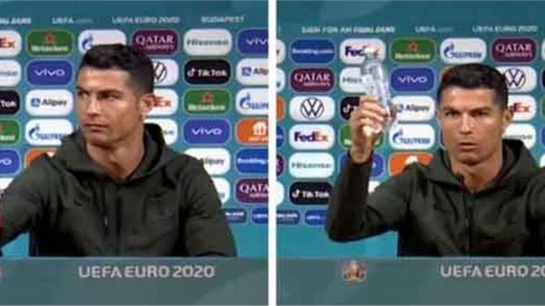 Hành động nhỏ của C.Ronaldo gây 'bốc hơi' 4 tỷ USD vốn hóa, 'nạn nhân' nói... tùy gu