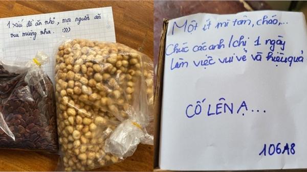 Loạt lời nhắn siêu dễ thương của sinh viên ĐH Quốc gia TP.HCM khi nhường ký túc xá làm nơi cách ly