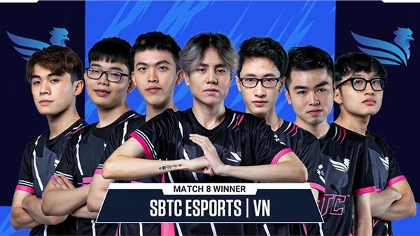 SBTC Esports nhì bảng A, thẳng tiến vào vòng playoff Summer Super Cup 2021