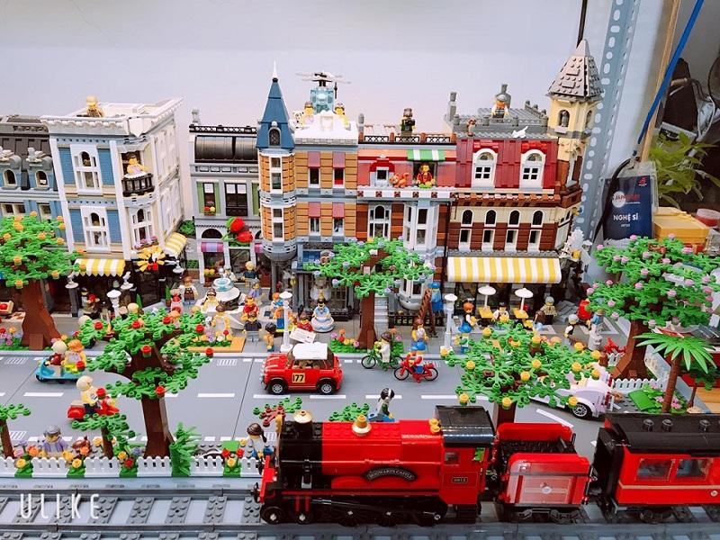 Chàng trai Việt sưu tầm mô hình Lego cực đỉnh: Bộ đắt nhất 20 triệu, nhiều đến nỗi không đếm xuể 0