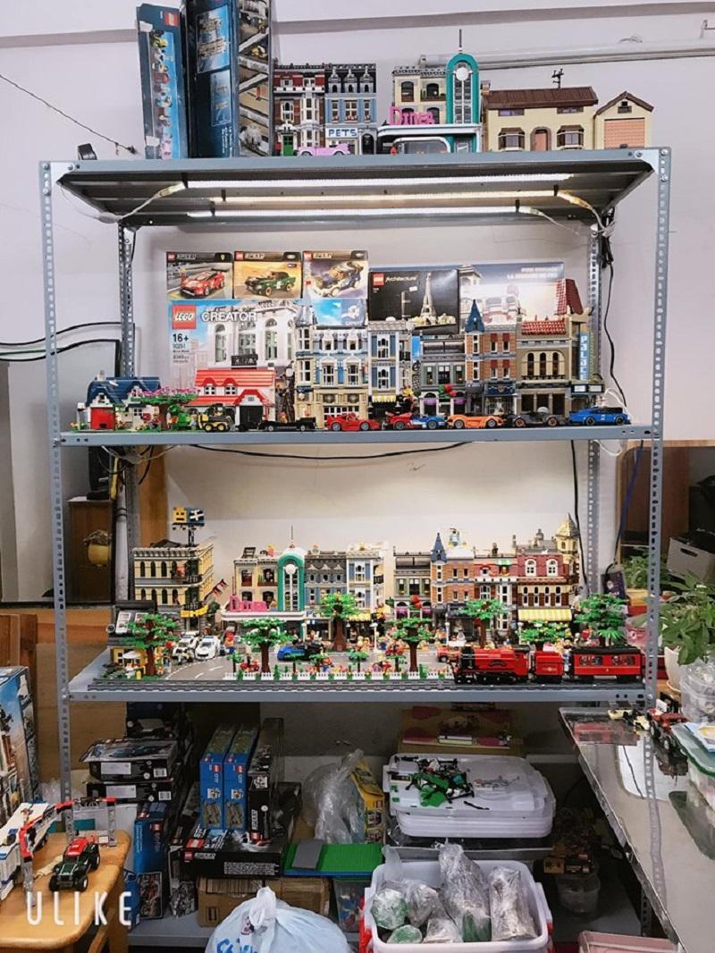 Bộ sưu tập mô hình Lego hàng chục triệu đồng của anh Đỗ Ngọc Sơn