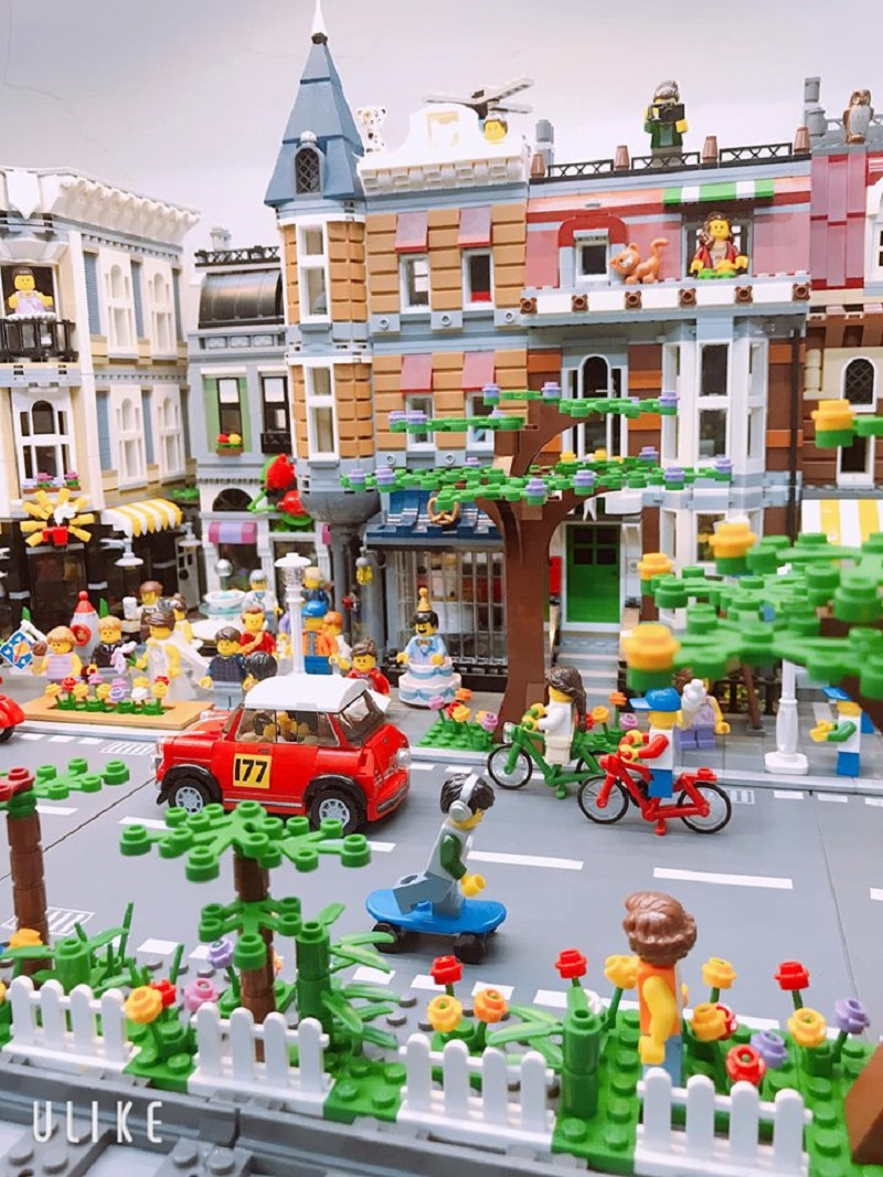 Chàng trai Việt sưu tầm mô hình Lego cực đỉnh: Bộ đắt nhất 20 triệu, nhiều đến nỗi không đếm xuể 2