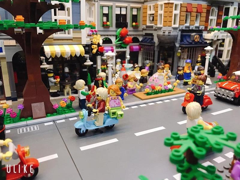 Để chơi Lego đòi hỏi phải có tính kiên nhẫn cao, tỉ mỉ và chính xác đến từng chi tiết