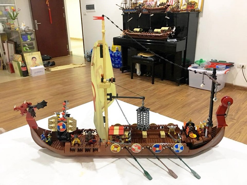 Chàng trai Việt sưu tầm mô hình Lego cực đỉnh: Bộ đắt nhất 20 triệu, nhiều đến nỗi không đếm xuể 5