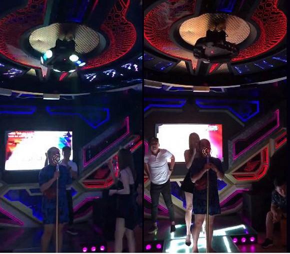 Có ai hạnh phúc như Nhã Phương, đi hát karaoke dù dở thế nào cũng có Trường Giang múa phụ họa 2
