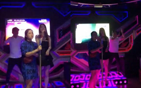 Có ai hạnh phúc như Nhã Phương, đi hát karaoke dù dở thế nào cũng có Trường Giang múa phụ họa 3