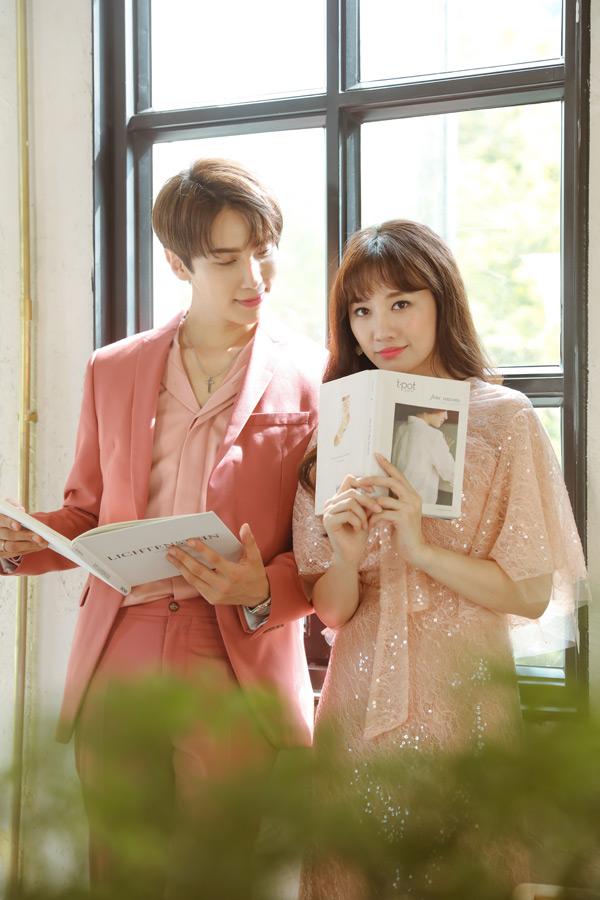 Hari Won lần đầu kết hợp cùng tài tử Hàn Quốc Park Jung Min với MV OST cực lãng mạn 0