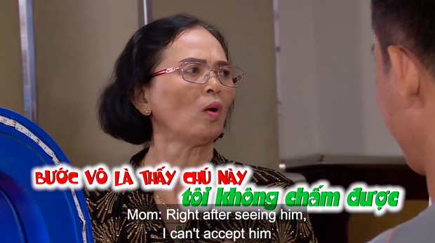 Mẹ của nữ chính chê bai chàng trai cùng tham gia khiến nhiều người bức xúc