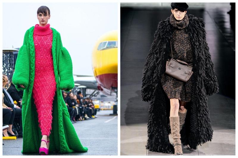 Được biết, len là một trong những xu hướng các nhà mốt quốc tế sử dụng trong các thiết kế mới nhất cho mùa thu đông 2020 như Versace, Gucci, TSE....