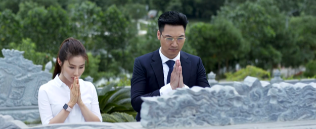 Linh đã đến thăm mộ của Lam Giang