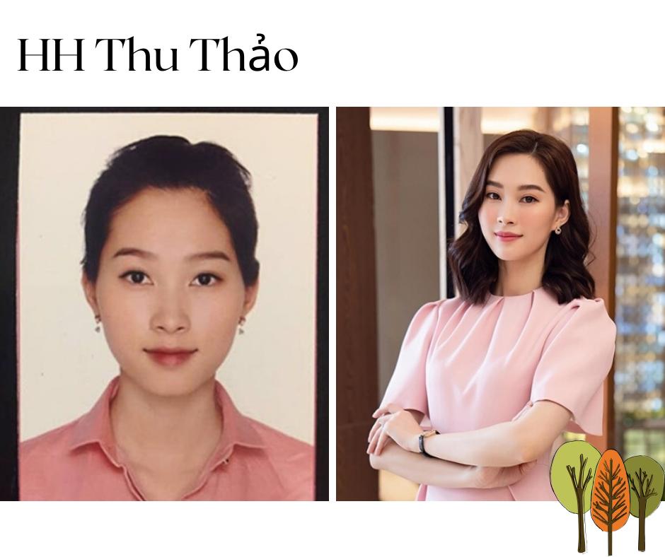 Nhìn vào tấm ảnh thẻ của Hoa hậu Đặng Thu Thảo, có thể thấy, người đẹp xứng đáng được mệnh danh là 'hoa hậu của các hoa hậu' bởi những đường nét hài hòa từ ngày còn quàng khăn quàng đỏ.