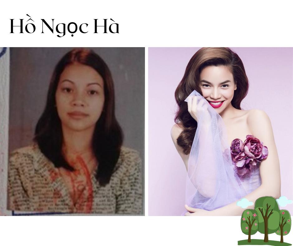 Nhìn lại ảnh thẻ nhiều năm trước của Hồ Ngọc Hà để thấy nữ ca sĩ đã nâng tầm nhan sắc nhiều thế nào. Theo thời gian, Hồ Ngọc Hà dần hoàn thiện và nâng cấp nhan sắc của mình lên một tầm cao mới.
