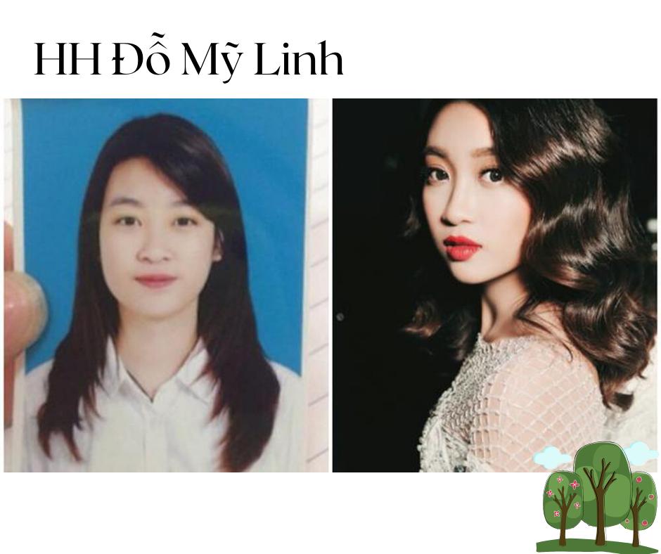 Ảnh thẻ thời học sinh đáng yêu và nhí nhảnh của Hoa hậu Mỹ Linh cũng giống bất kì một cô gái 'xì tin' nào.